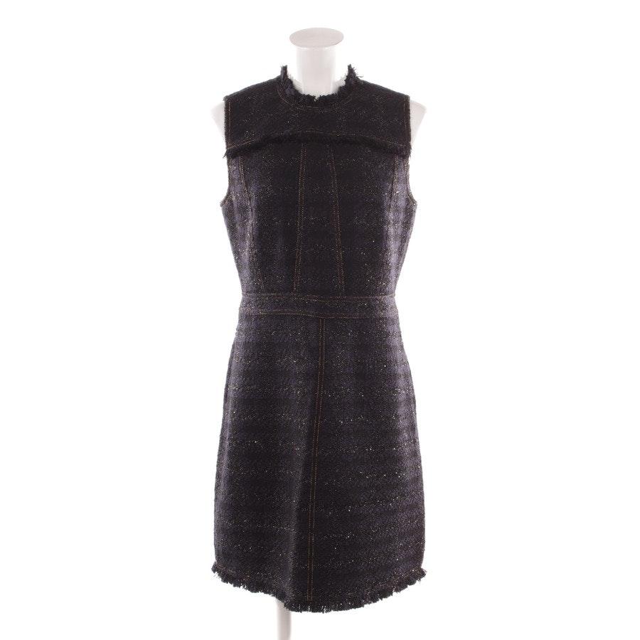 Kleid von Tory Burch in Blau und Schwarz Gr. 40 US 10