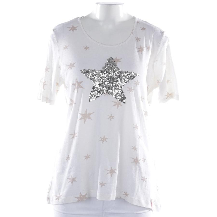 T-Shirt von Insieme in Cremeweiß und Beige Gr. 40