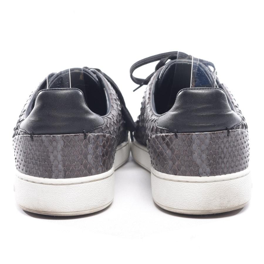 Sneaker von Louis Vuitton in Braun und Kadettenblau Gr. EUR 39,5 UK 6