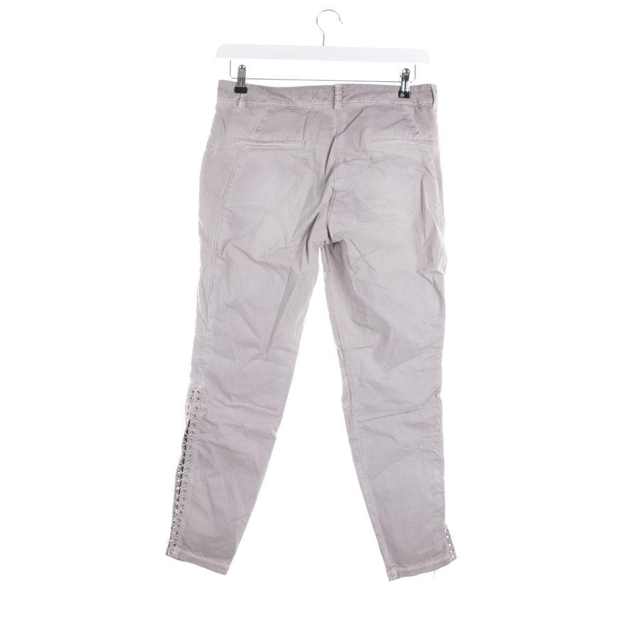 Jeans von Cambio in Taupe Gr. 40 - Rico