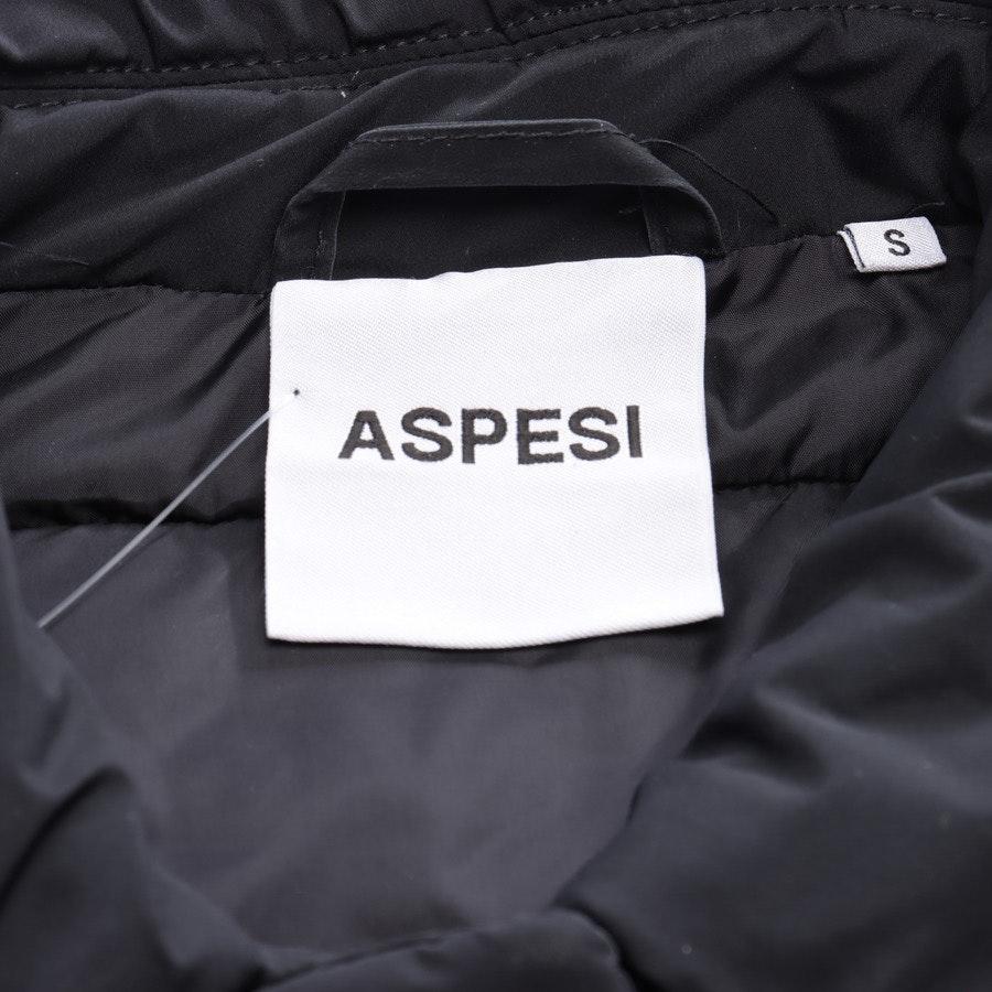 Übergangsmantel von Aspesi in Schwarz Gr. S