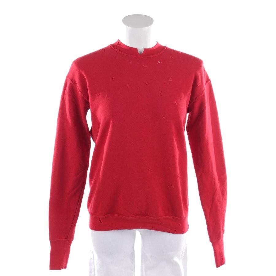 Sweatshirt von Helmut Lang in Rot Gr. XS