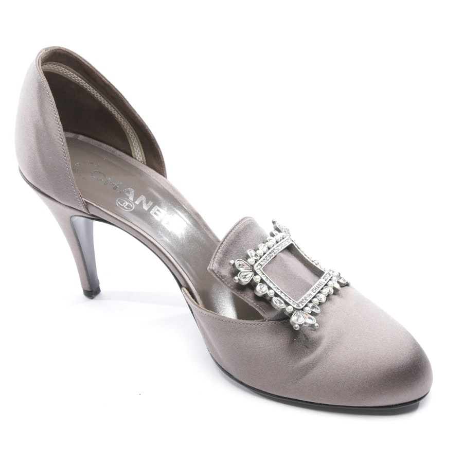 Pumps von Chanel in Taupe Gr. D 39,5