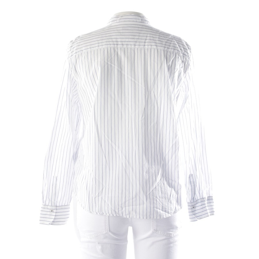 blouses & tunics from Marc O'Polo in blue and white size 42