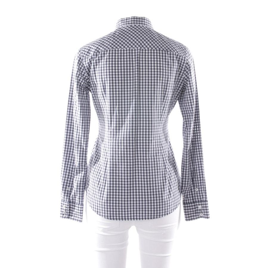 Bluse von Marc O'Polo in Dunkelblau und Weiß Gr. 36