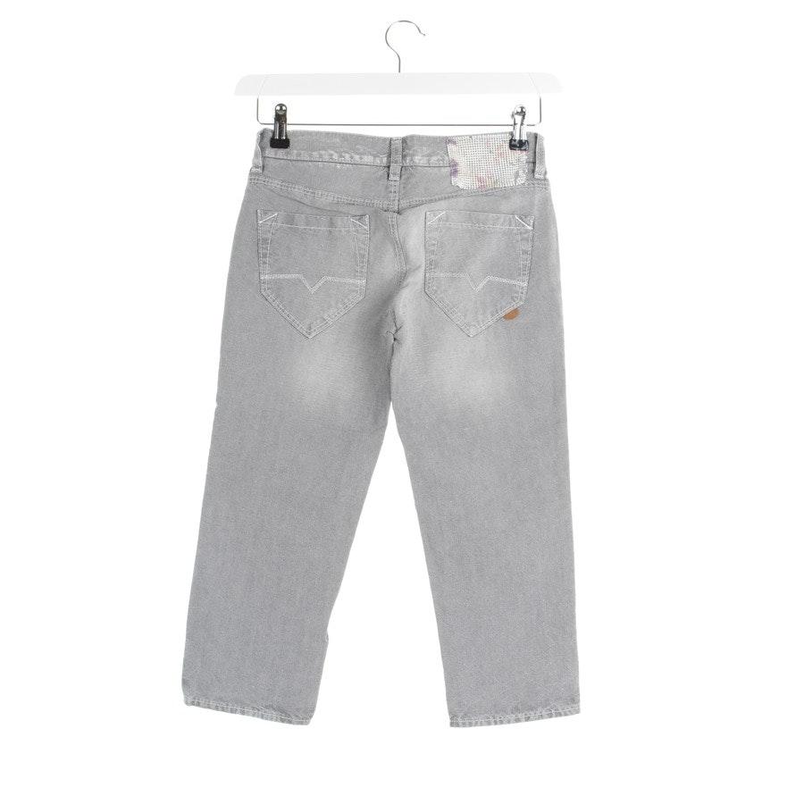 Jeans von Hugo Boss Orange in Grau Gr. W26