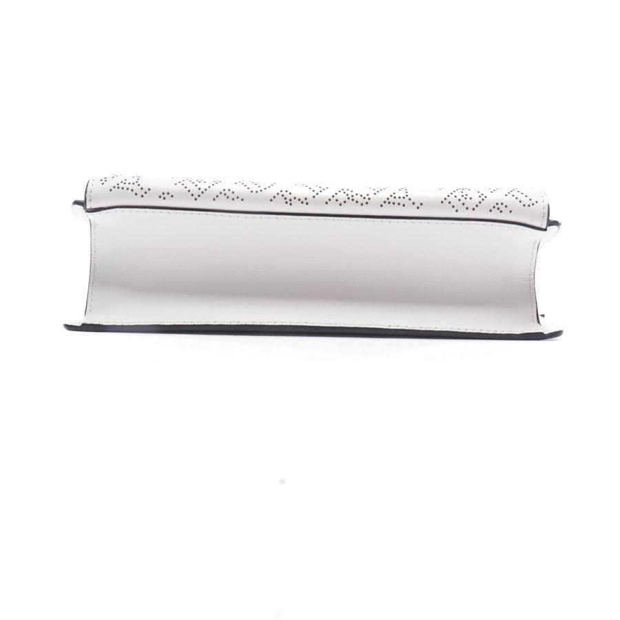 Umhängetasche von Burberry in Offwhite - Small Macken Perforated Leather Crossbody Bag