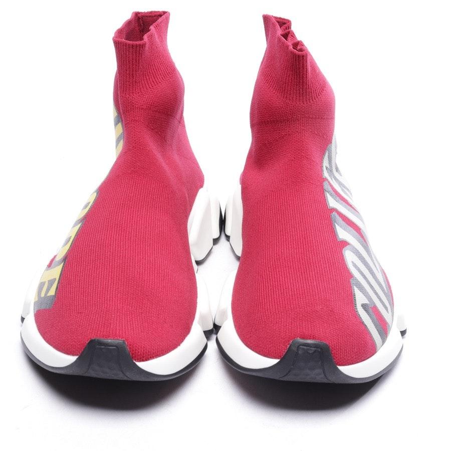 Sock Sneaker von Balenciaga in Weinrot und Multicolor Gr. EUR 38 - Speed - Neu
