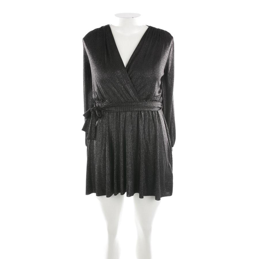 Minikleid von Dondup in Schwarz und Silber Gr. M