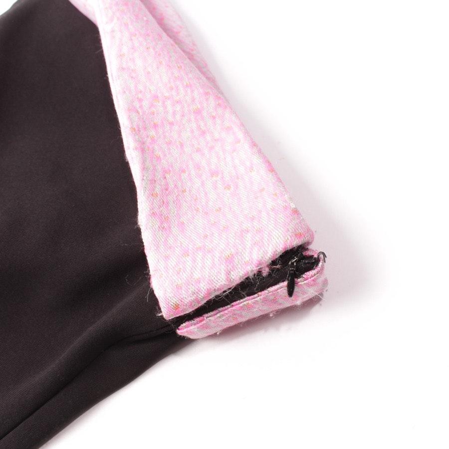 Kleid von Balenciaga in Schwarz und pink Gr. DE 36 FR 38