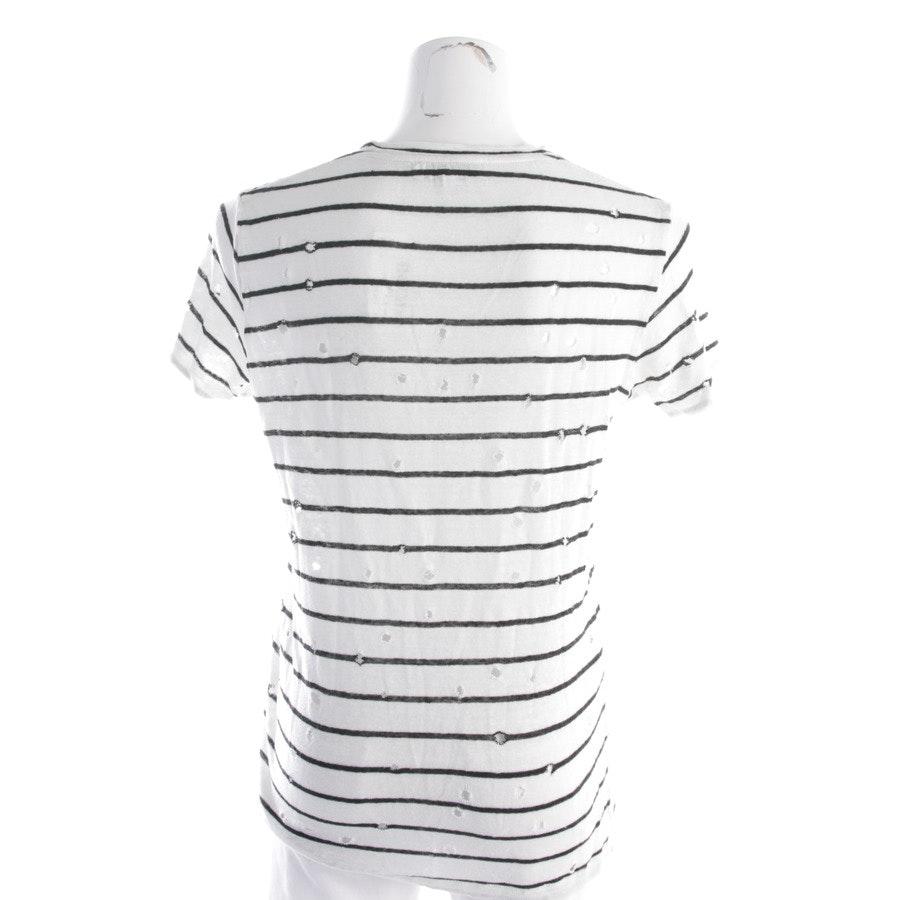 Leinenshirt von Iro in Weiß und Schwarz Gr. XS