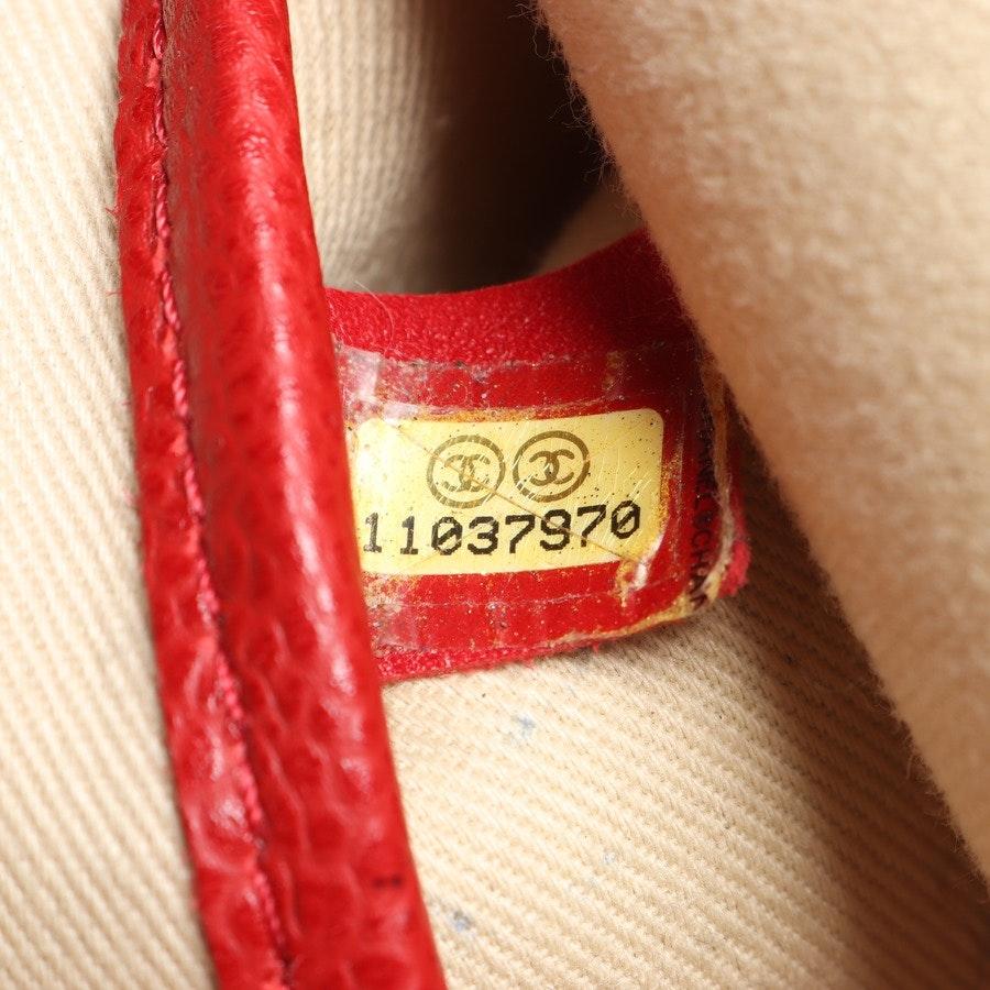 Shopper von Chanel in Beige und Rot