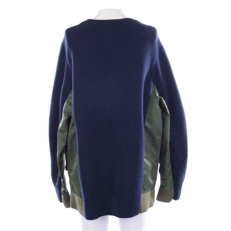 Pullover von Dorothee Schumacher in Mitternachtsblau und Olivgrün Gr. 40 / 4