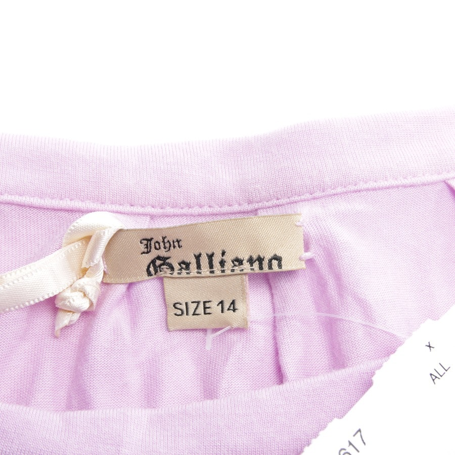 dress from John Galliano in lilac size 40 UK 14