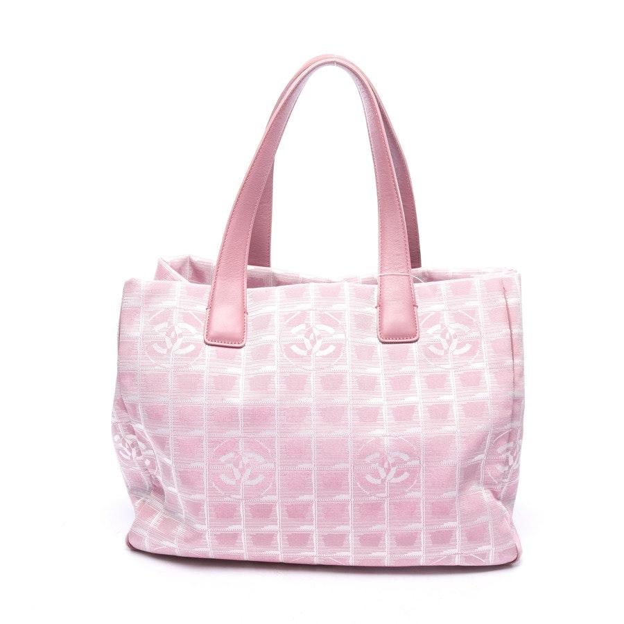 Shopper von Chanel in Rosa und Weiß