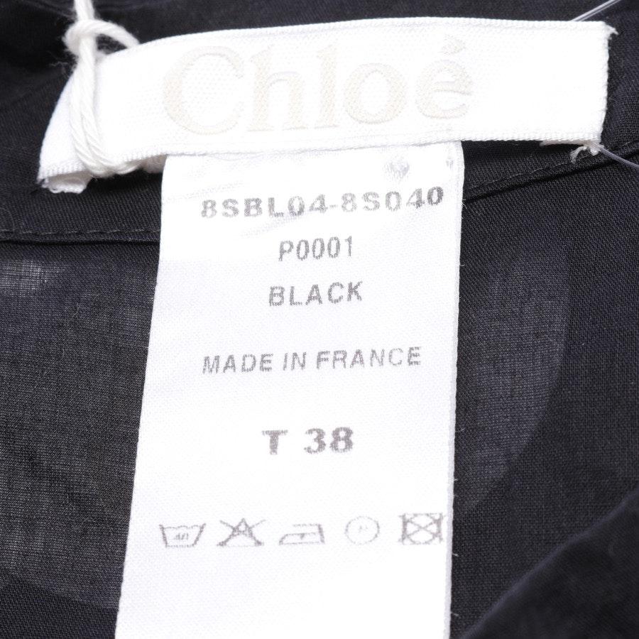 Bluse von Chloé in Schwarz Gr. 36 FR 38 - Neu