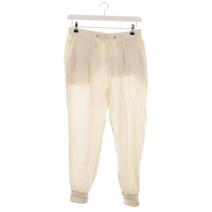 trousers from Marc O'Polo in cream size 38