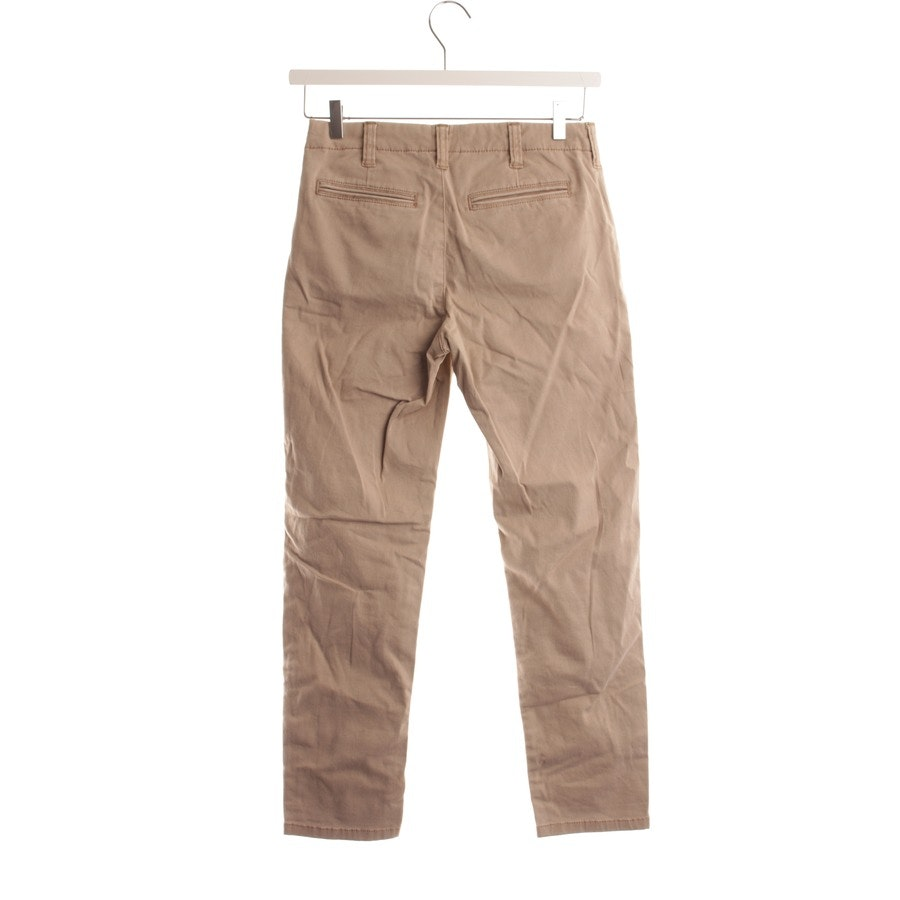 trousers from Stefanel in khaki size XS