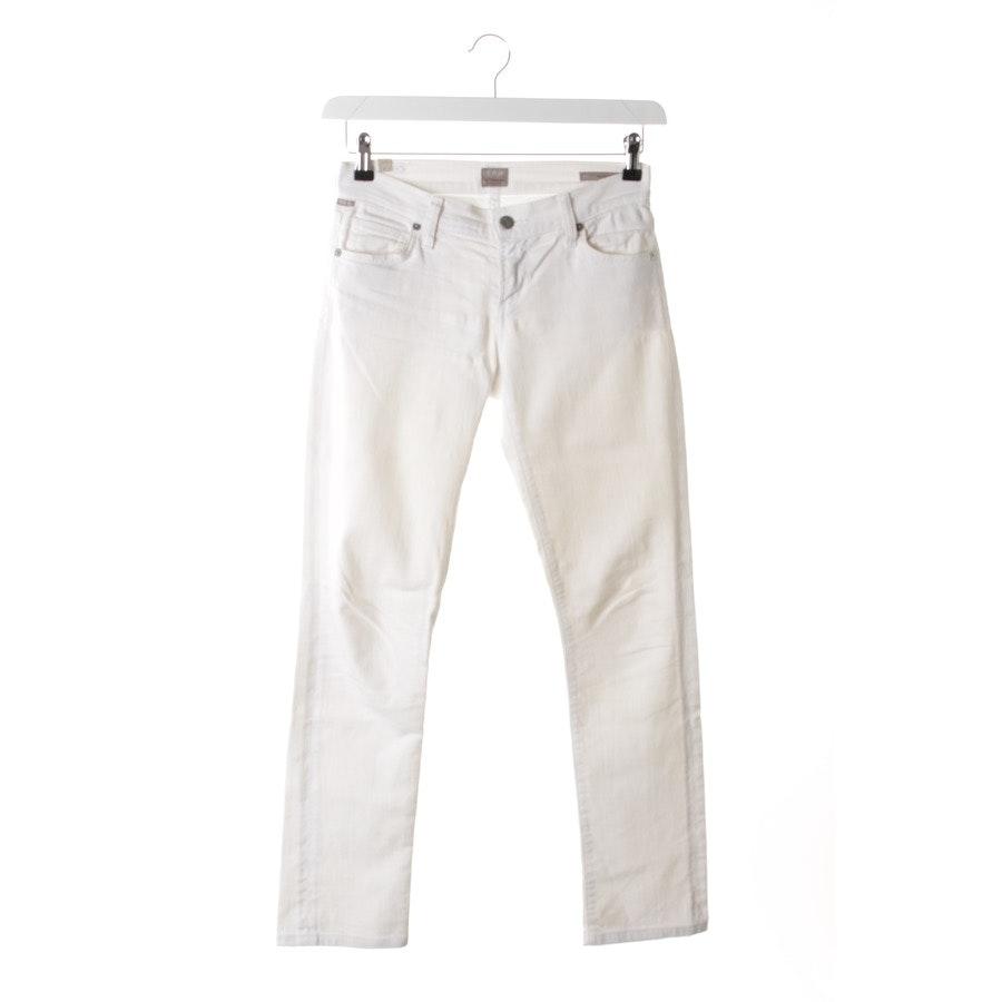Jeans von Citizens of Humanity in Weiß Gr. W24