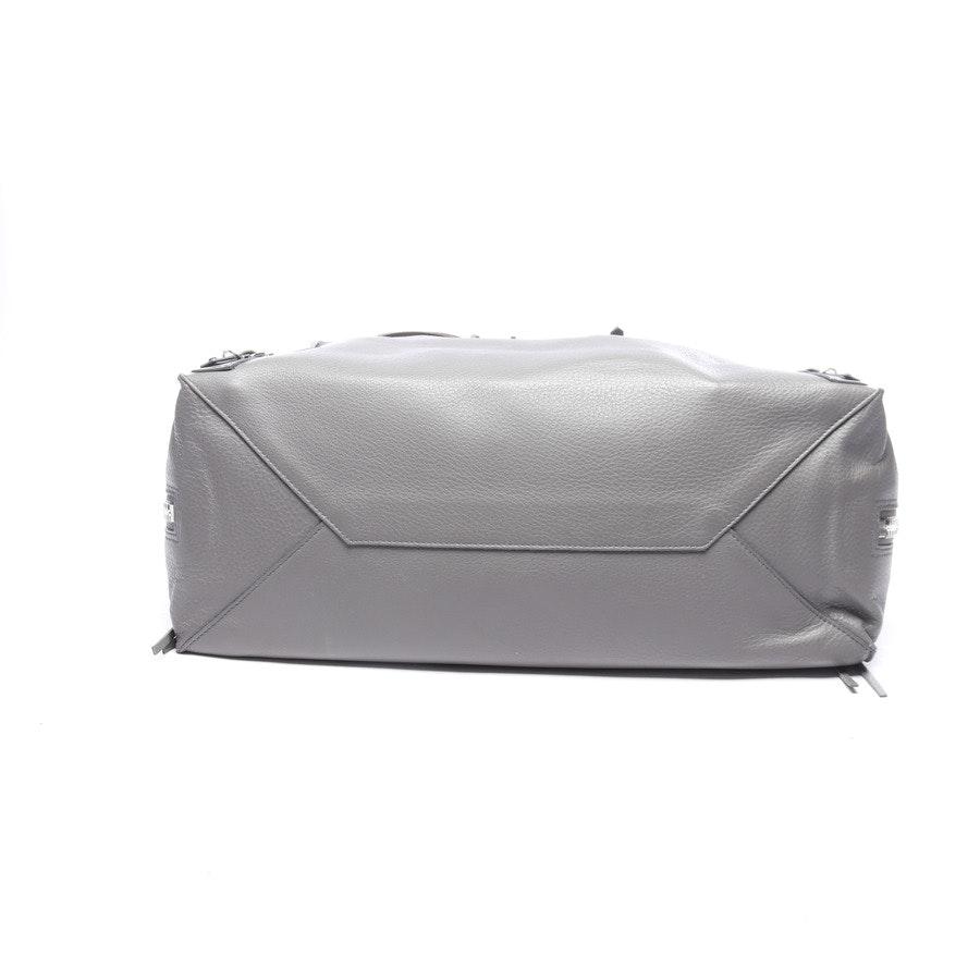 Shopper von Balenciaga in Grau Papier A4 Zip