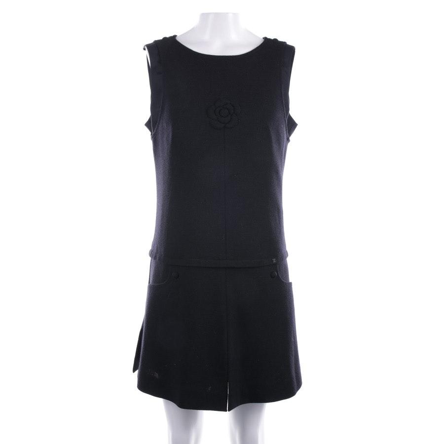 Seidenkleid von Chanel in Schwarz Gr. 38 FR 40