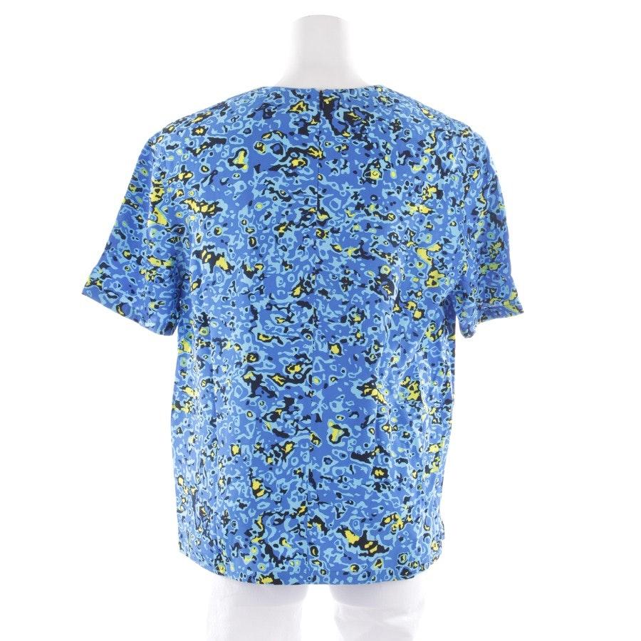 Blusenshirt von Balenciaga in Blau und Multicolor Gr. 38 FR 40