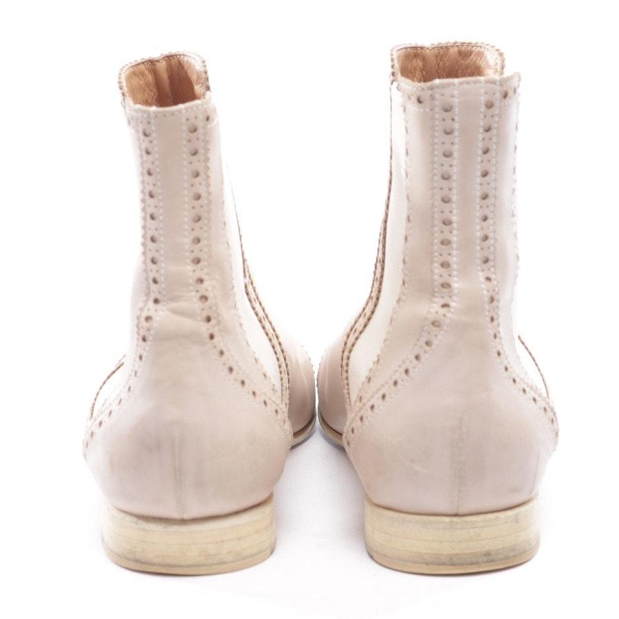 Chelsea Boots von Hermès in Pastellrosa Gr. EUR 38,5
