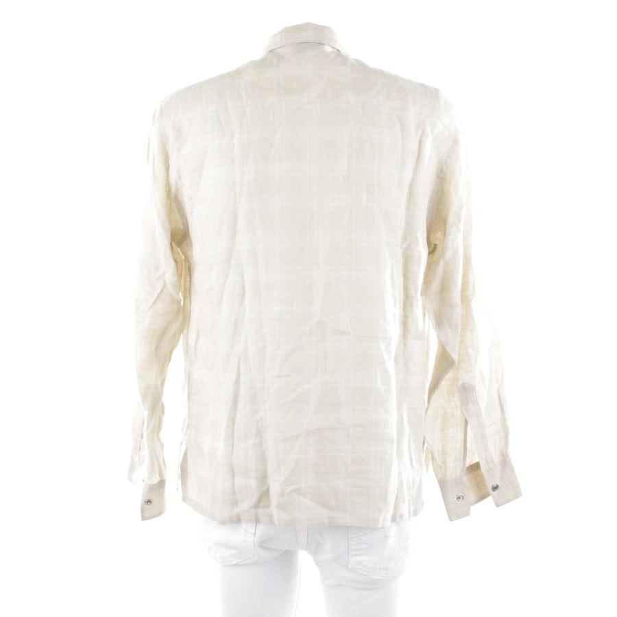 Leinenhemd von Hermès in Beige Gr. 40
