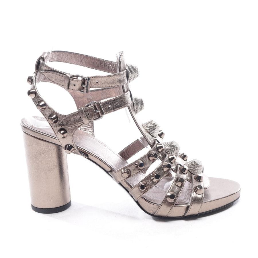 Sandaletten von Balenciaga in Bronze Gr. EUR 40 Neu
