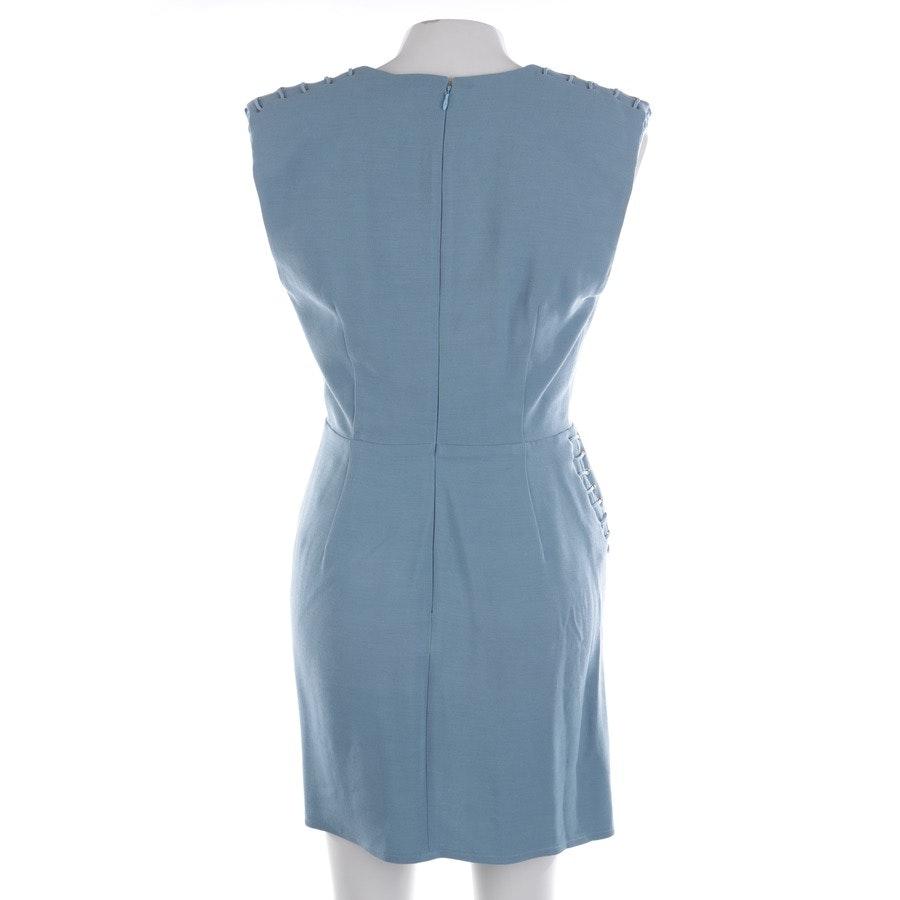Kleid von Elisabetta Franchi in Taubenblau Gr. 38 IT 44 - Neu