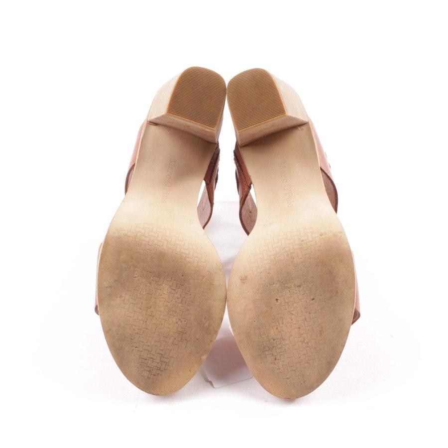 Sandaletten von Marc O'Polo in Cognac Gr. D 39