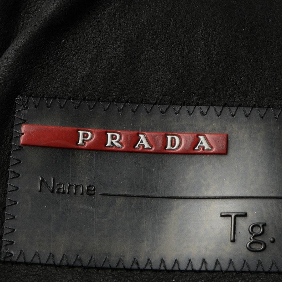 Felljacke von Prada in Schwarz Gr. 36 IT 42 Fell