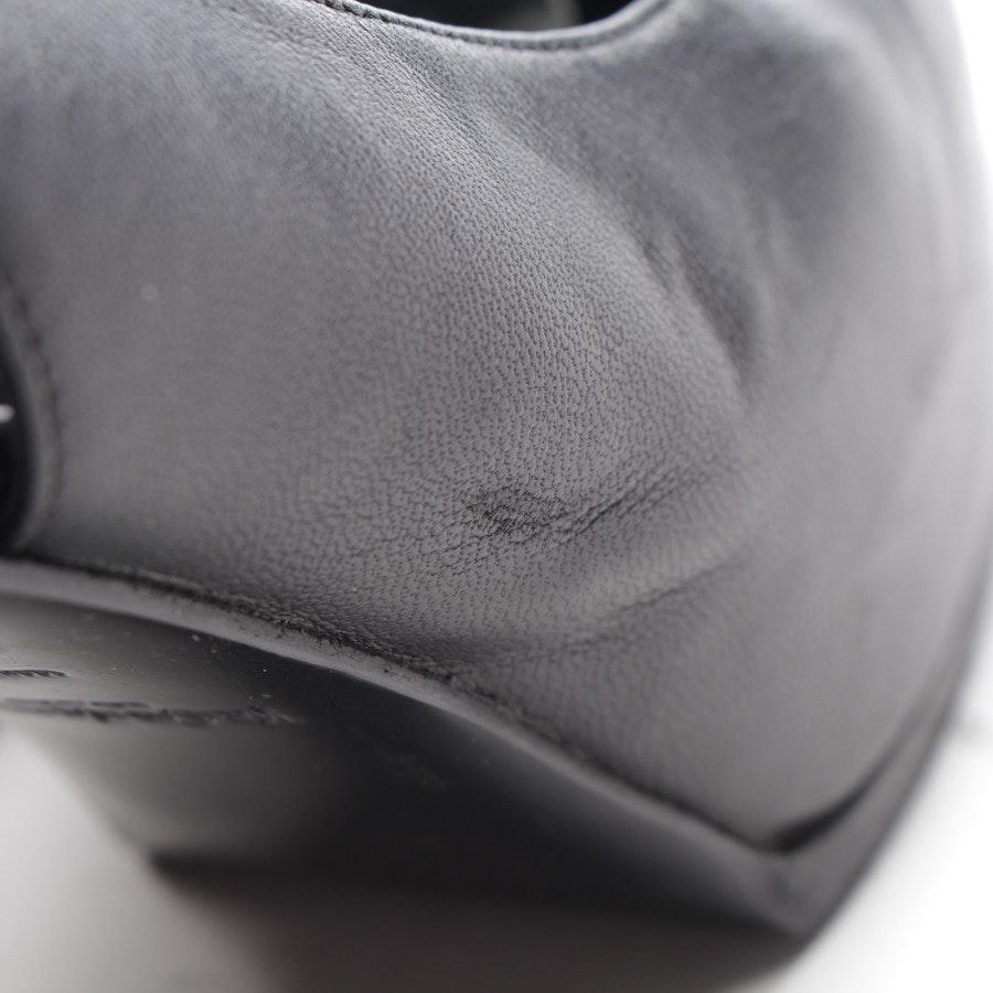 Slingbacks von Yves Saint Laurent in Schwarz Gr. D 37,5 - Tribtoo
