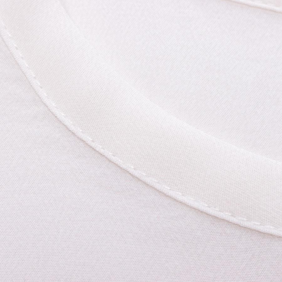 Seidenbluse von Equipment in Weiß Gr. S