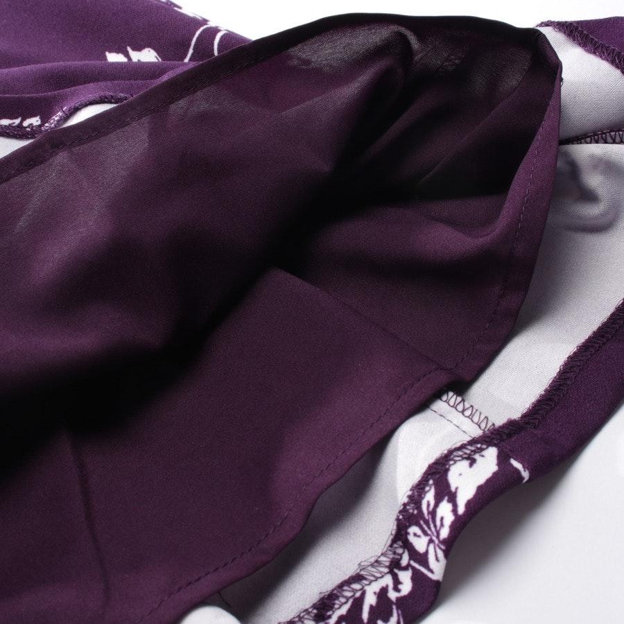 Kleid von Lauren Ralph Lauren in Lila und Weiß Gr. 34 US 4 Neu