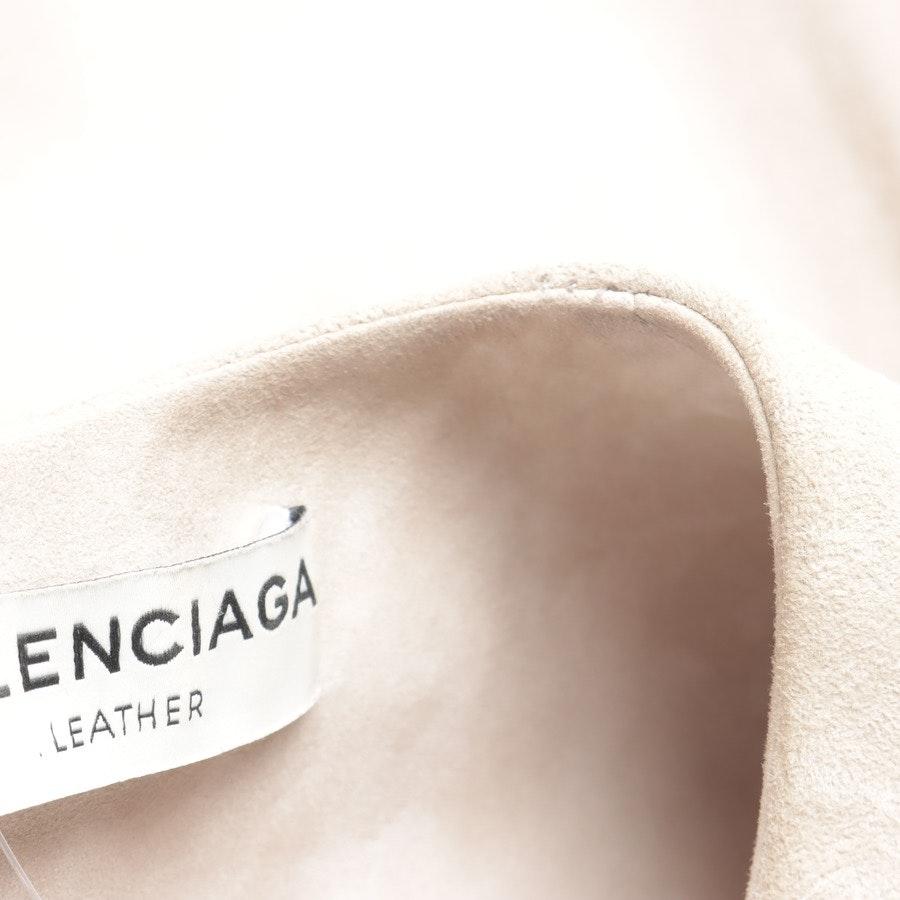 Lederkleid von Balenciaga in Beige Gr. 38 FR 40