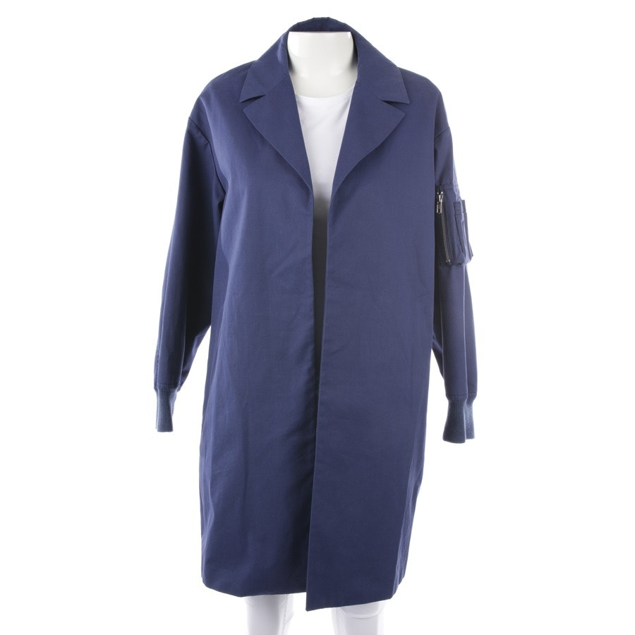 between-seasons jackets from Love Moschino in blue size 38