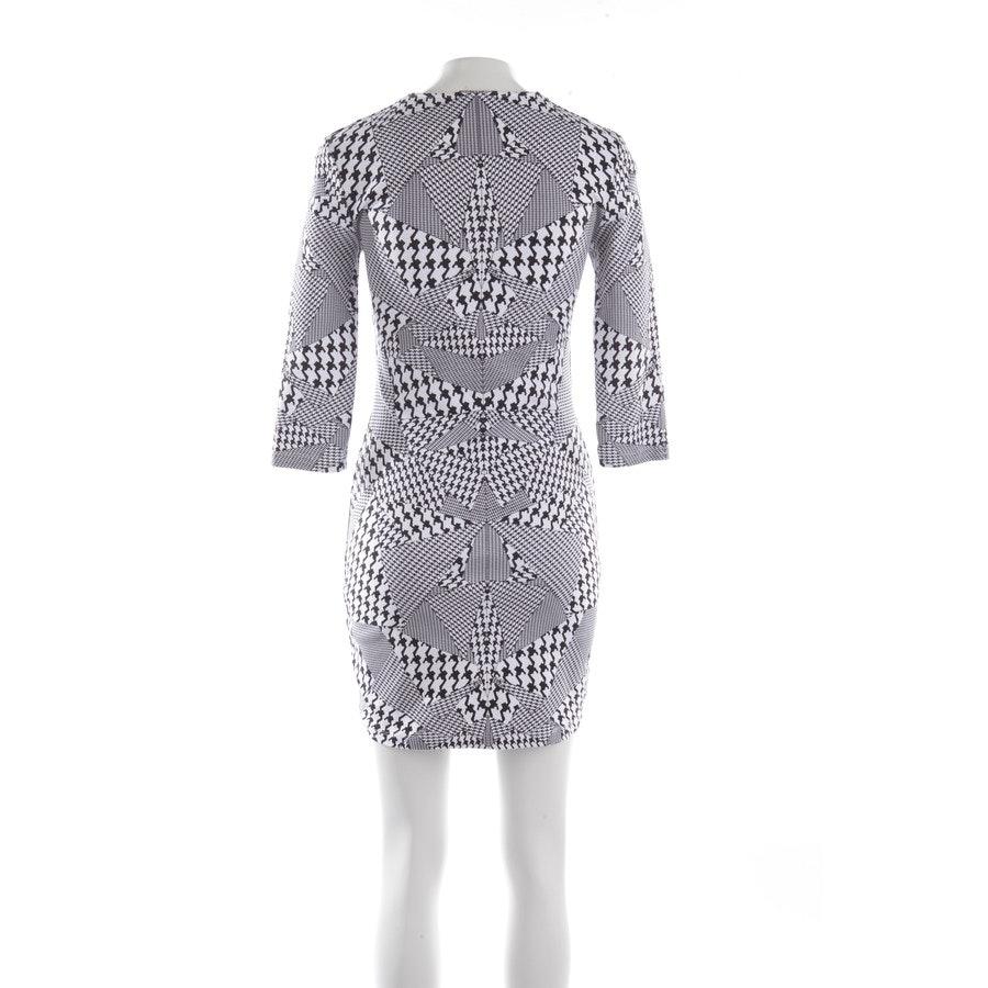 Kleid von Alexander McQueen in Weiß und Schwarz Gr. S