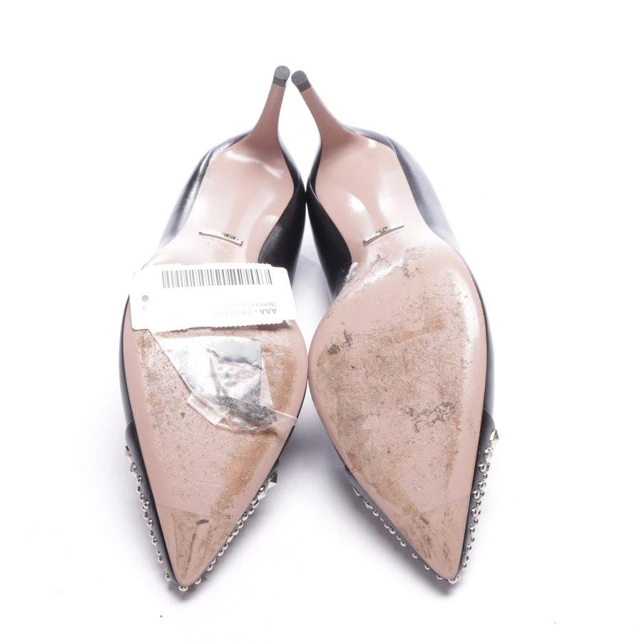 Pumps von Gucci in Schwarz und Silber Gr. EUR 39,5