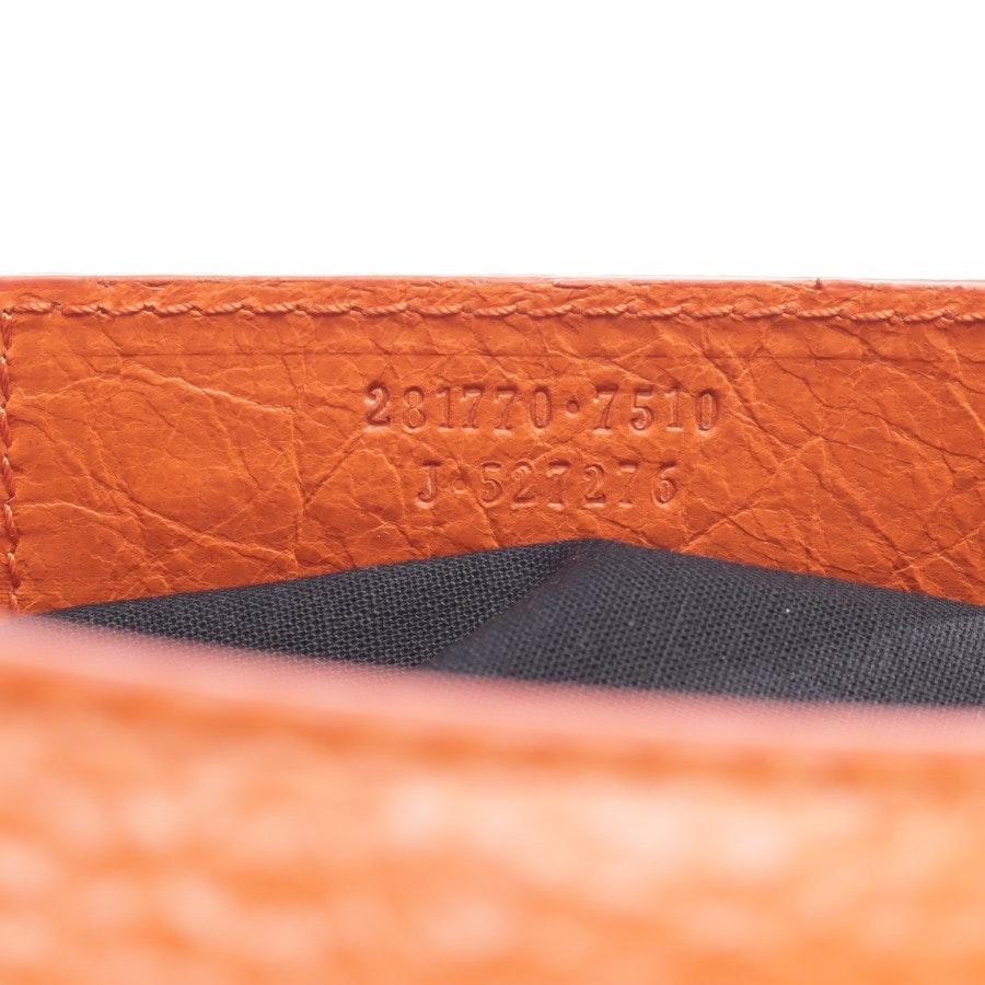 Handtasche von Balenciaga in Orange Classic City Neu