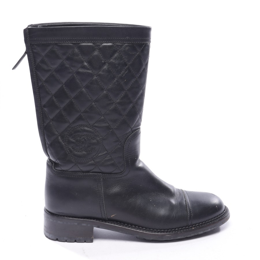 Boots from Chanel in Black size EUR 39