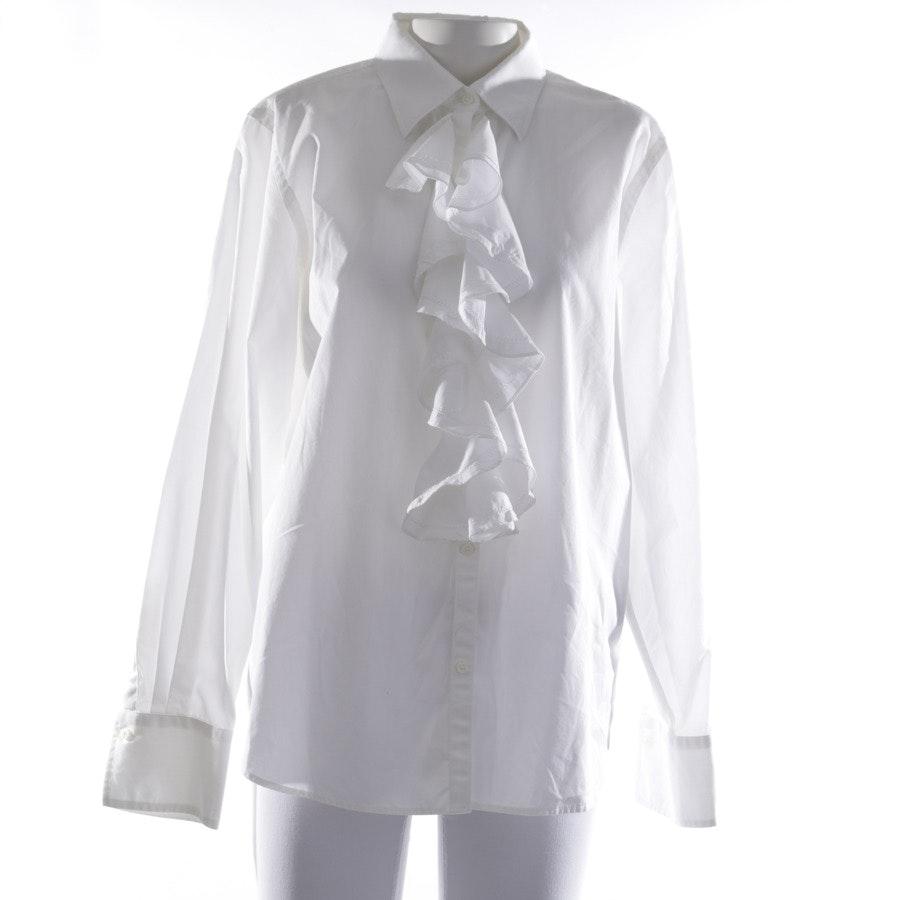 Bluse von Lauren Ralph Lauren in Weiß Gr. XL