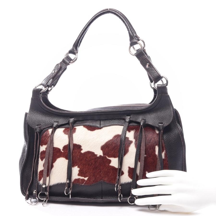 shoulder bag from Furla in brown and beige