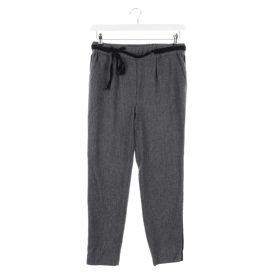 trousers from Stefanel in grey and black size S