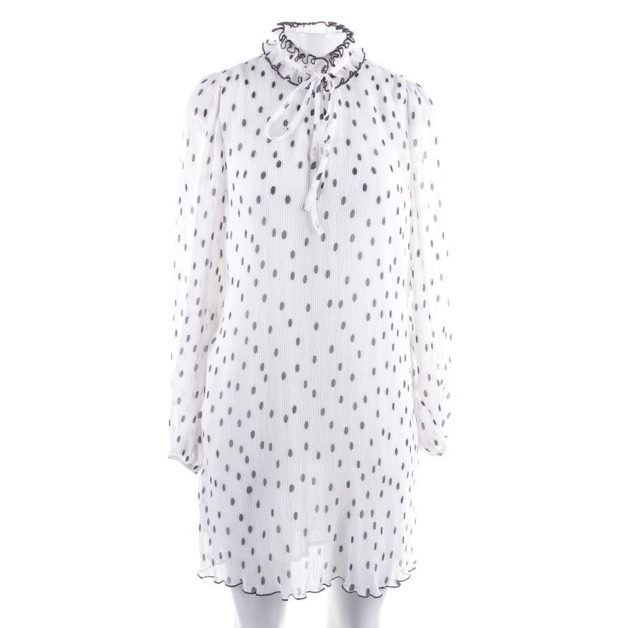 Kleid von Ganni in Weiß und Schwarz Gr. 36 Neu