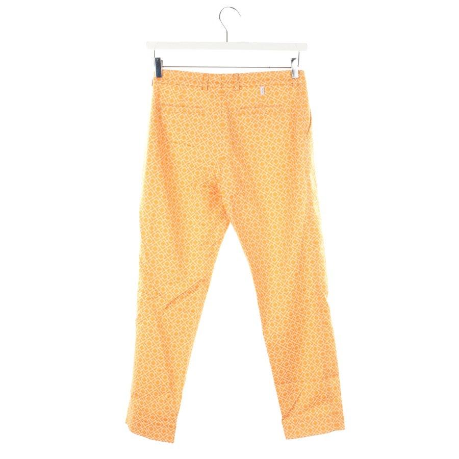 Hose von Bogner in Orange und Beige Gr. 36
