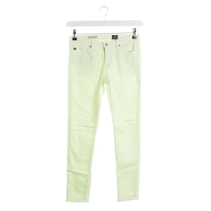 Jeans von AG Jeans in Neon Gelb Gr. W26 - Legging
