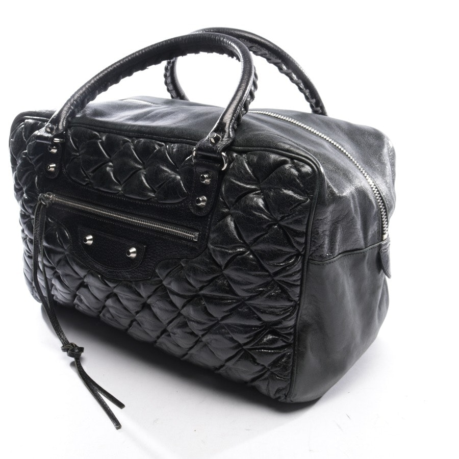 handbag from Balenciaga in black - sienna quilted chevre leather matelasse gm bag