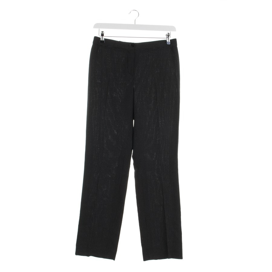 trousers from Armani Collezioni in black and white size 38 IT 44