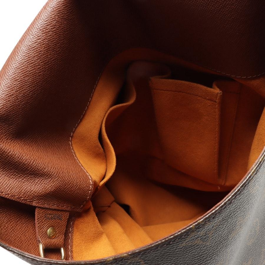 Umhängetasche von Louis Vuitton in Braun und Beige Musette Salsa GM